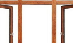 普通平开窗与内开内倒窗的差别【红橡树门窗】