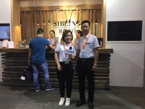 中国建材网专访兄弟木业营销总经理――刘名轩