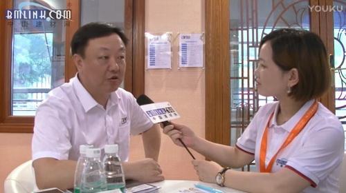 建材网专访阿尼古智能窗业总经理――王志建