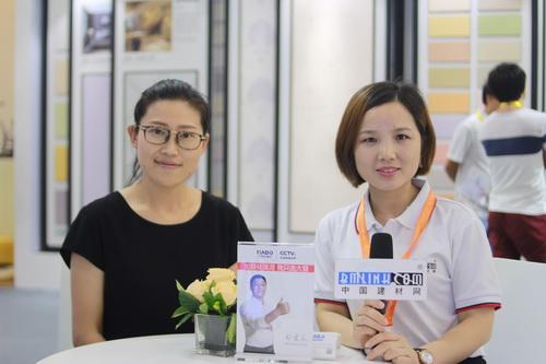 中国建材网专访大督硅藻泥副总经理——刘翠