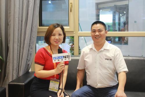 中国建材网专访伊盾门窗总经理——袁南京