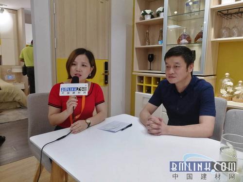 中国建材网专访佰怡家营销总经理——张磊