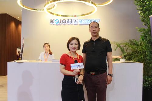 中国建材网专访科居品牌总监——杜强