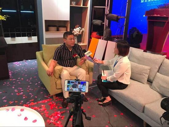 中国建材网专访华泽三峰木业集团总经理――刘强