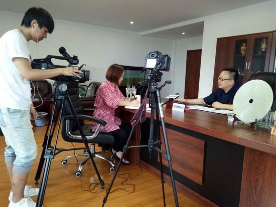 中国建材网专访阿尼古智能窗业总经理——王志建