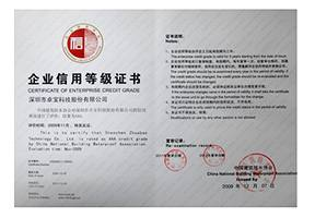 中国建筑防水行业AAA信用企业