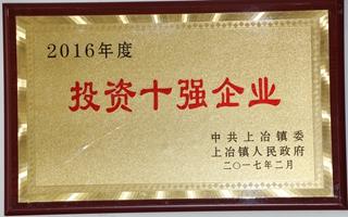 2016年度投�Y十��企�I