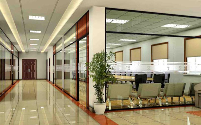 【温州办公室隔断玻璃墙高隔间设计安装公司】今日
