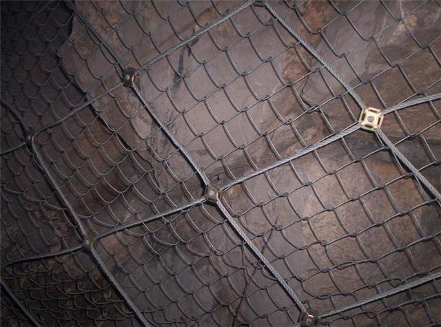 阳泉矿区专用菱形网-巷道挂网安全网批发商