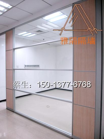 深圳玻璃办公室隔断 厂家图片