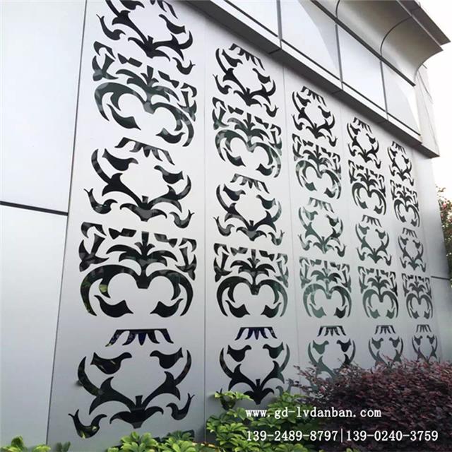 缕空雕刻铝单板更适合外墙