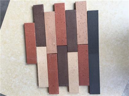 厂家直销 陶土劈开砖 烧结砖 透水砖