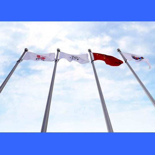 供应张家口变径旗杆,音乐国旗同步旗杆订做