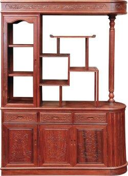 茶桌,酒柜,备餐柜 客厅系列:休闲椅,中堂,沙发,花架,条案,供桌,佛龛