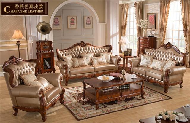 供应长沙星沙美式风格客厅皮沙发欧式皮沙发