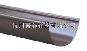 供应洛阳市定做檐沟接水天沟铝合金成品雨槽