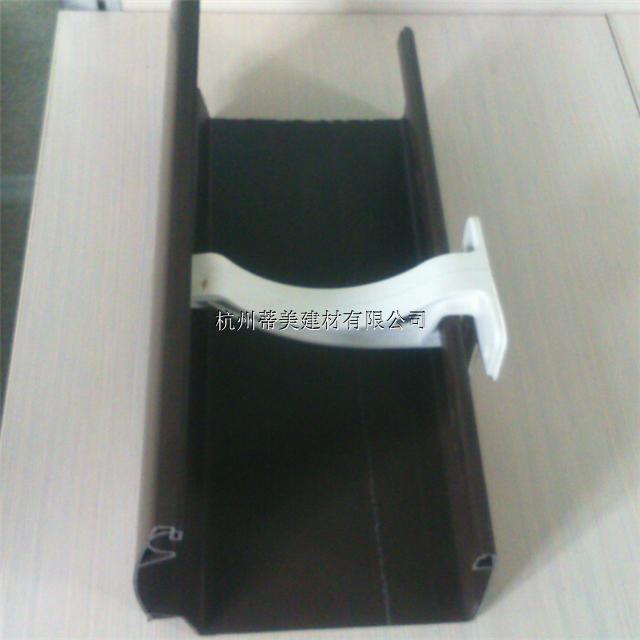 庐江县k形PVC天沟PVC方形雨水管厂家