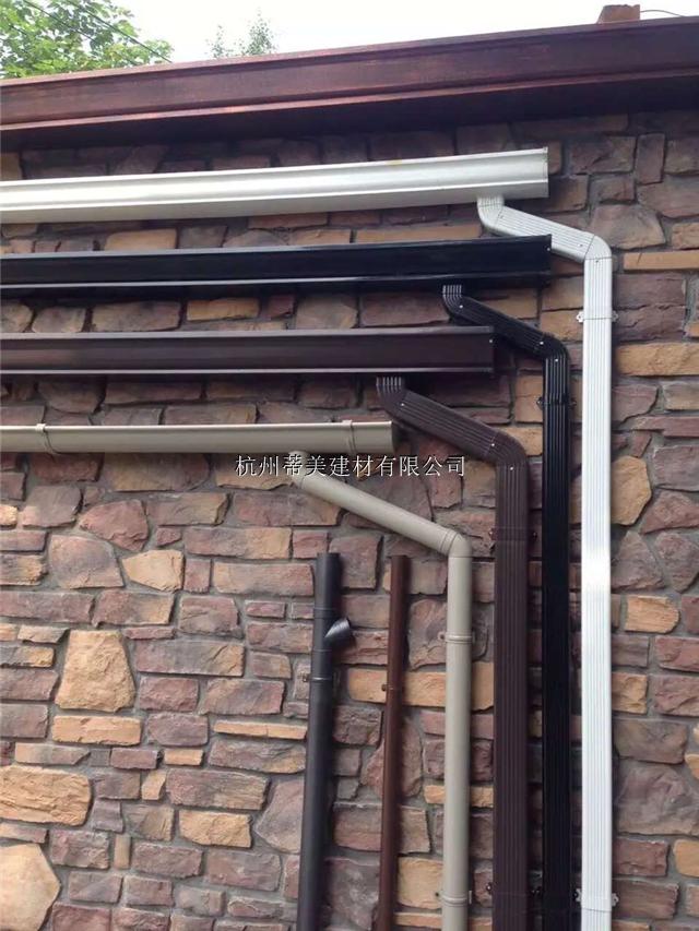供应都昌县方形雨水管屋檐接水槽成品天沟
