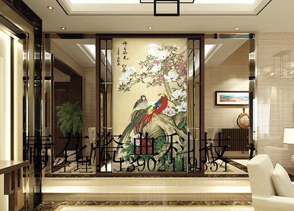 供应锦上添花客厅陶瓷壁画