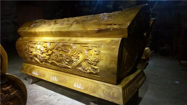 【金丝楠木棺材,南北款式