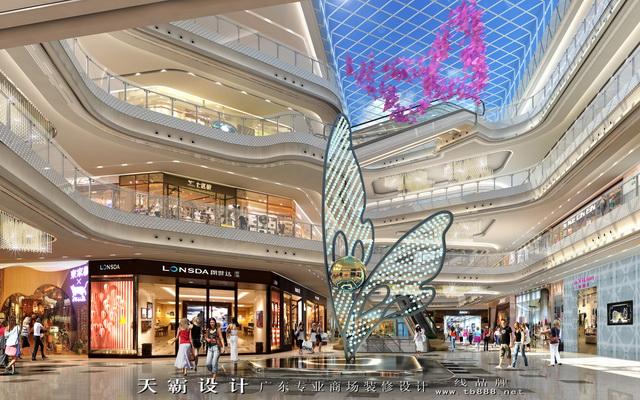 企业新闻 > 天霸设计专业提供萍乡商场装修方案    很多大型商场装修