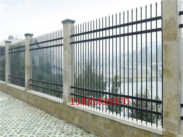 铁艺围墙护栏学校围栏锌钢护栏