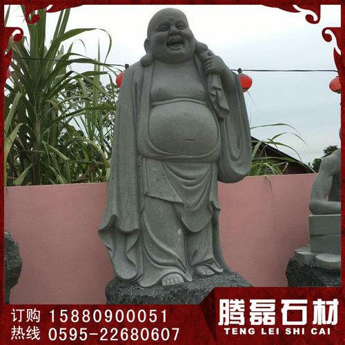 优质石雕十八罗汉 多种材质石雕罗汉