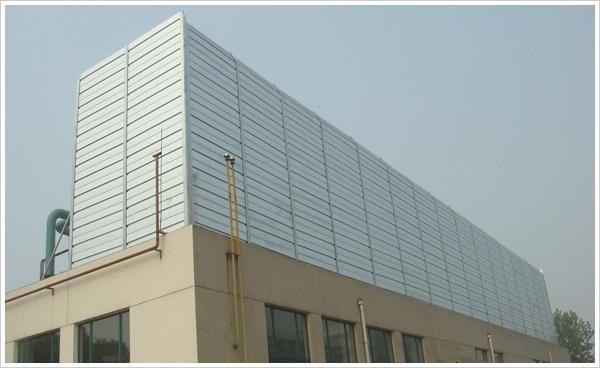 供应哪里生产百叶孔冷却塔声屏障 价格