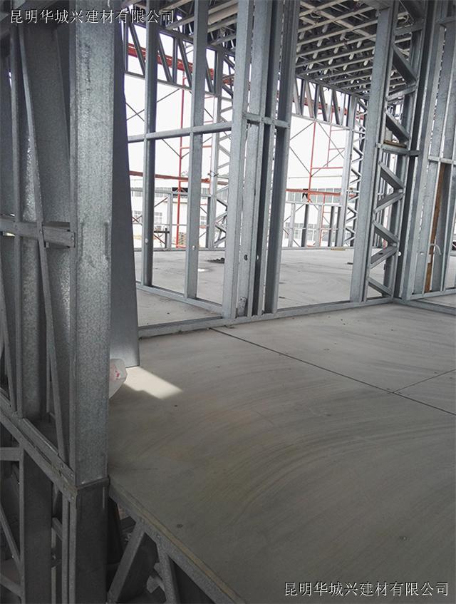 高密度纤维水泥压力板做loft钢结构楼板