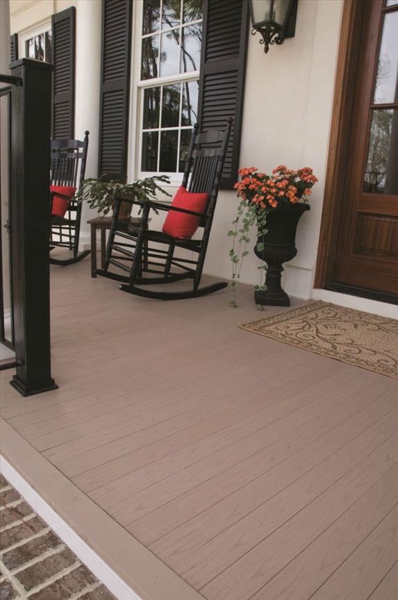 湖南自然木塑木地板WPC木塑更新木PVC长城板