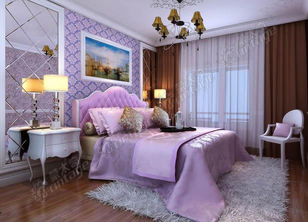 简欧风格家装案例 硅藻泥壁材完美呈现图片