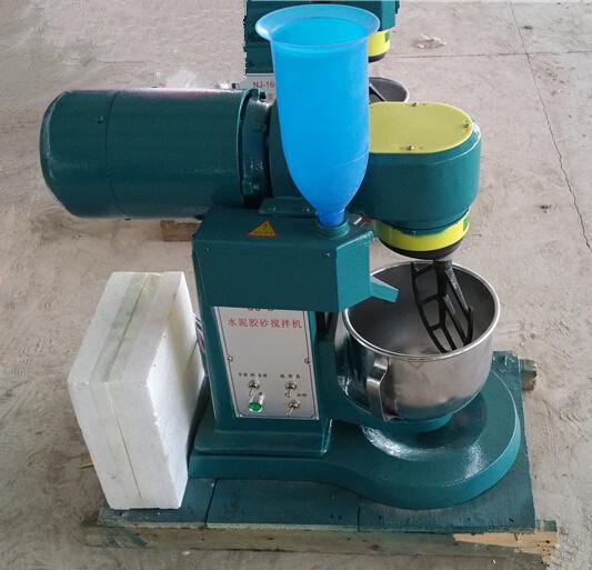 一, 用途和适用范围:水泥胶砂搅拌机是根据中国建材院水泥所的统一图纸制造,符合我国执行国际强度试验方法(ISO679—1989(E))的标准设备。也可代替GB3350.1-82用作GB177—85水泥胶砂试验方法的搅拌机。并可用作美国标准,欧洲标准,日本标准水泥试验的净浆,砂浆搅拌机。本机是水泥厂,建筑施工单位,有关专业院校及科研单位水泥试验室必备的,不可缺少的设备之一。 二,主要规格及技术参数: 1,搅拌叶转速 低速自转140±5 r/min;低速公转62&plu
