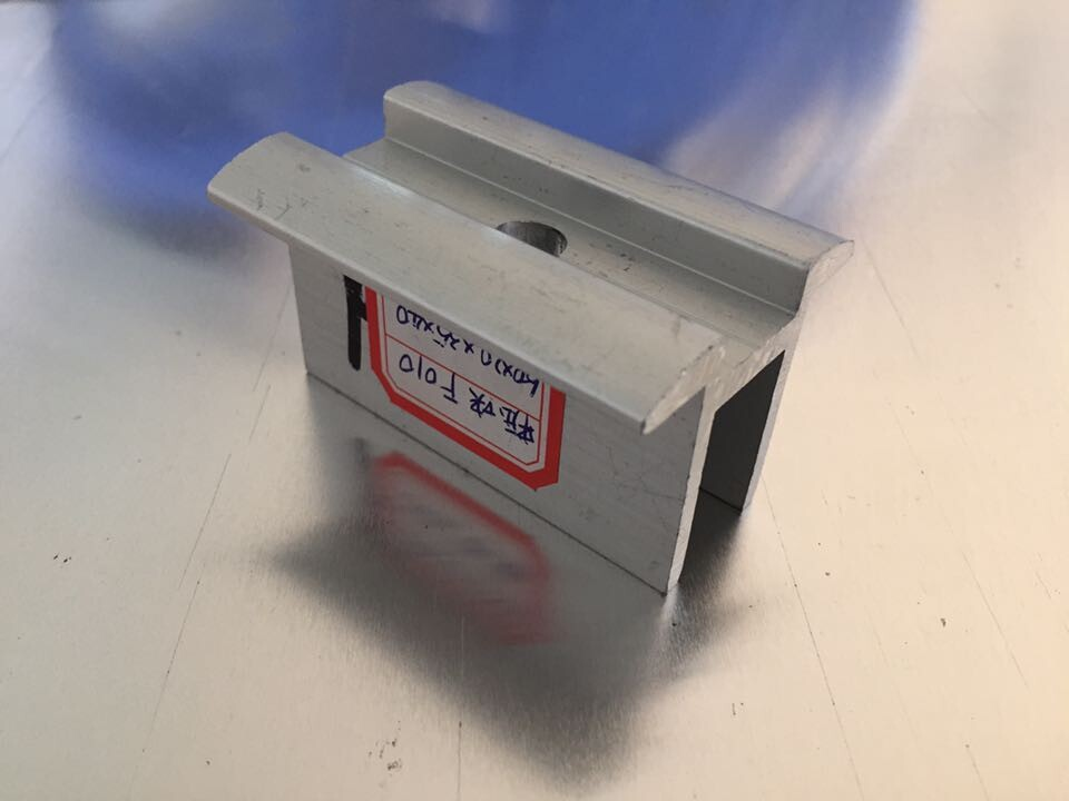 太阳能光伏压块电池板固定压块