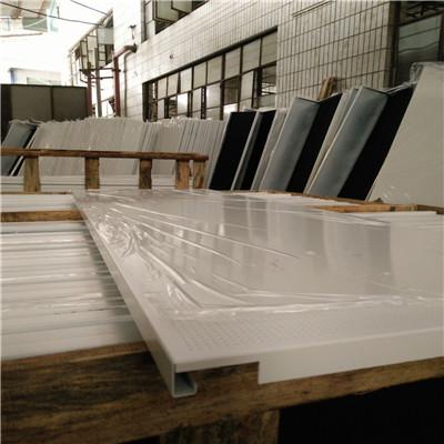 桂林广汽传祺汽车4S店展厅镀锌钢板天花吊顶