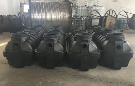 供应栖霞生产耐酸碱化粪池、PE一体化粪池