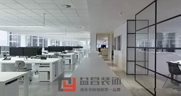南昌现代风格办公室装修设计效果图