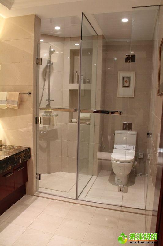 干湿分区淋浴房酒店工程-【效果图,产品图,型号图,图
