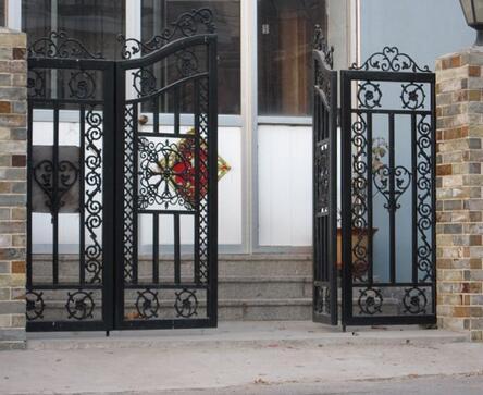 铁艺扶手,铁艺床,铁艺防盗窗,田园风格铁艺围栏,欧式铁艺大门,铁艺