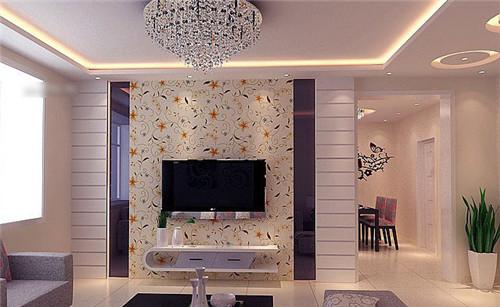 10款电视背景墙装修效果图 时尚家居2016客厅美图