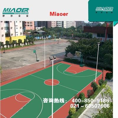篮球场工程公司,每平方价格