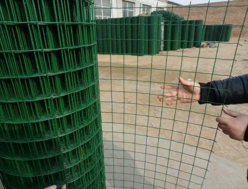 黑河批发绿色焊接铁丝网-圈山围院墙铁丝网