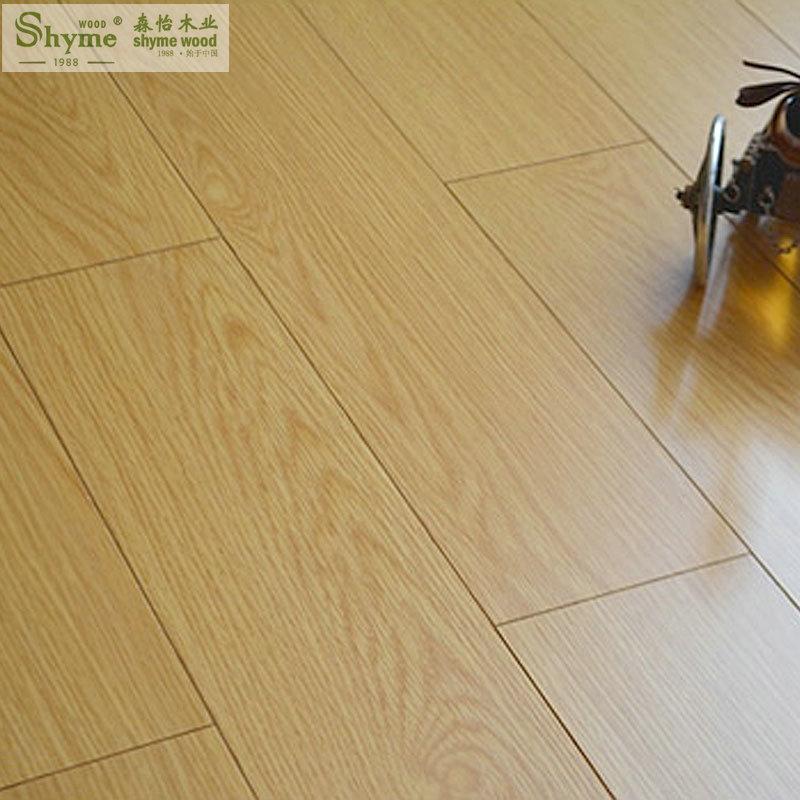 白橡实木多层复合地板