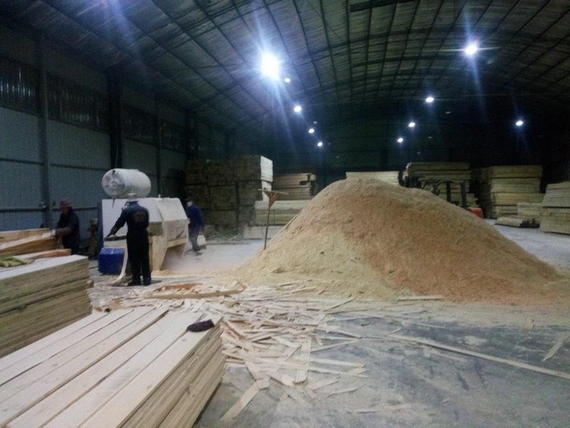木材加工的企业