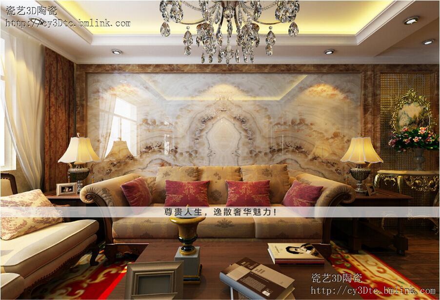 塘厦瓷砖背景墙_塘厦客厅影视墙订做价格