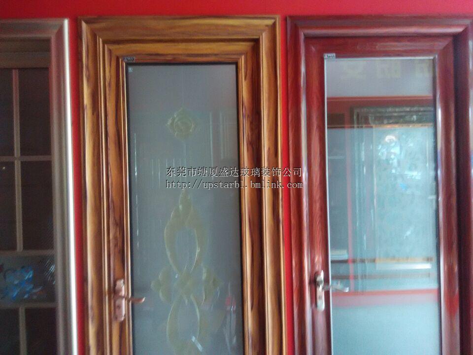 供应实木门订做,办公室玻璃大门制作安装