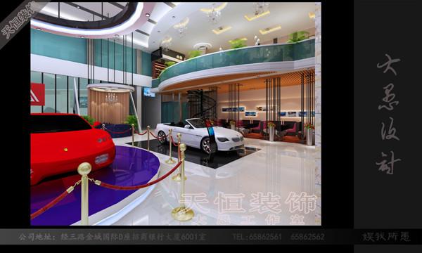 【郑州全国4S店装修设计,4S店装修设计】汽车建筑设计定额劳务图片