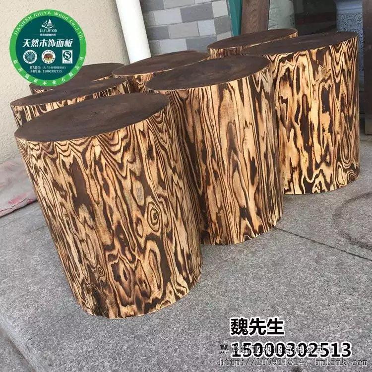 凳实木木桩圆凳茶几凳木桩木根雕