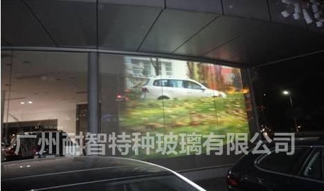 【特种玻璃智能调光玻璃雾化电控投影玻璃】图片