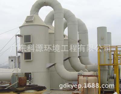 【酸雾废气处理喷淋塔装置的特点和工作原理】图片