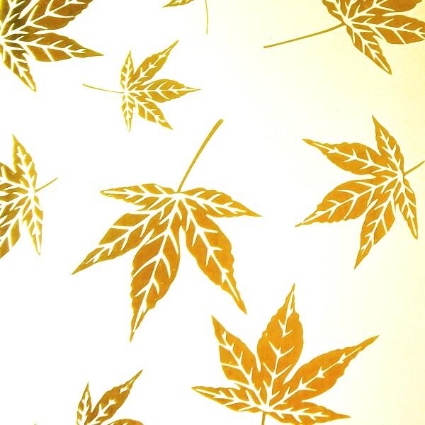 不锈钢黄金叶花纹丝印蚀刻板